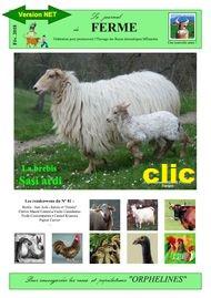 Téléchargez le journal des animaux des races à faible effectif.